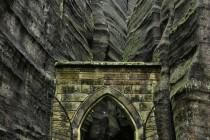 Adršpašké skaly - Gotická branka, HDR