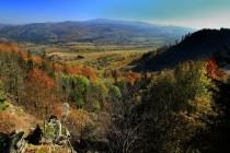 Krásné výhledy do okolní krajiny