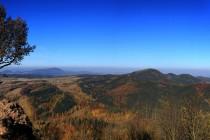 Góry Suche (Javoří hory) - výhled z Rogowce