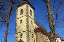 Lanžov - kostel svatého Bartoloměje