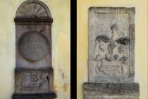 Lanžov - kostel svatého Bartoloměje, renesanční náhrobky