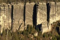 Teplické skály - Chrámové stěny