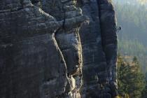 Teplické skály - na Chrámových stěnách