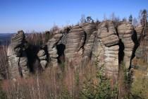 Broumovské stěny nad Jitřenkou