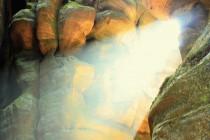 V Teplických skalách - Sibiř