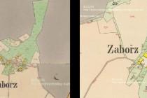 Obě osady na indikační skice stabilního katastru