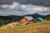 Schronisko na Sniezniku - jediná zdejší horská bouda