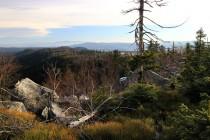 Pohled směrem na východ k Orlickým horám