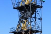 Nowa Ruda - uhelné doly, těžní věž