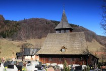 Grzmiaca - dřevěný kostel Narození Panny Marie