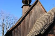 Rybnica Leśna - dřevěný kostel svaté Hedviky