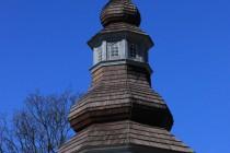 Sierpnica - dřevěný kostel Panny Marie Sněžné