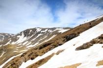 Přechody přes sněhová pole