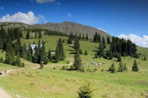 Pohoří Tarcu - tábořiště Cuntu