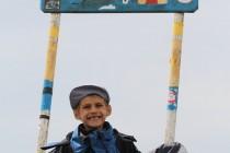 Nejmladší účastníci expedice podali hodnotné sportovní výkony (stejně tak i jejich rodiče)