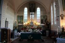 V kostele v Eibenthalu