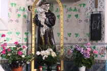 sv. Antoníček v gernickém kostele, foto- FL