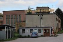 Důl Jana Švermy - vstup do areálu a vrátnicí