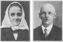 Josefa a Antonín st. Burdychovi. Oba byli popraveni.
