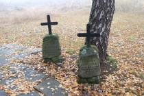 Pomníček tu má i František Jiroušek, který byl na končinách bezdůvodně zabit  okupanty na konci války.