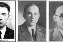 Odbojová skupina S21B- zleva: Josef Schejbal, Václav Hejna, Ladislav Satran
