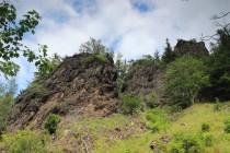 Rozsáhlé skalní výchozy