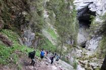 Les na okraji plošiny Padiš ukrývá jednu z největších evropských propastí