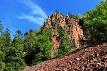 Suťoviště vlastně vzniklo v důsledku postupného rozpadu skal