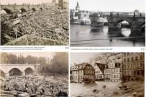 Koncem 19. století zdevastovalo Čechy v rychlém sledu za sebou několik rozsáhlých povodní. foto: http://www.scheufler.cz/
