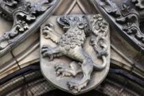 Nejhezčí lvi zdobí gotický kostel Nanebevzetí Panny Marie