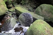 Batorów - mlýnský kámen