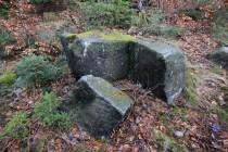 U hranice se nachází i stará kamenická dílna