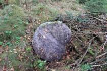Hradiště - polotovar nejspíše brusného kamene. Možná to měl být i mlýnský kámen. Ale to by musela být dílna opuštěná již během 19. století, což je málo pravděpodobné...