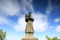 Vysoká Srbská - mariánská socha