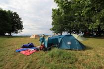 Na tábořišti