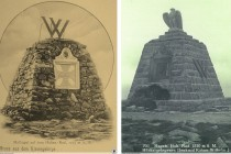 Pomník během 20. století změnil svojí podobu