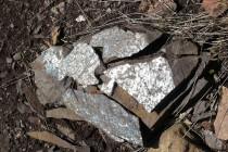 Rožmitál - lom, tektonické zrcadlo P1070175