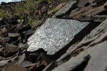 Rožmitál - lom, tektonické zrcadlo P1070193