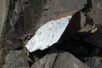 Rožmitál - lom, tektonické zrcadlo P1070218