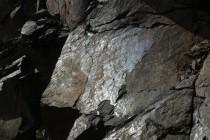 Rožmitál - lom, tektonické zrcadlo P1070238