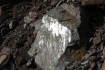 Rožmitál - lom, tektonické zrcadlo P1070256
