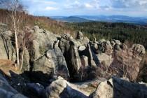 Supí skály jsou špatně přístupné a chodí do nich jen horolezci a trampové