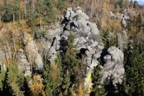 Na Krásné vyhlídce v Supích skalách