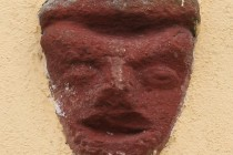 Mladé Buky - maska z kostlení věže IMG_4694 2