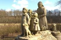 Babiččino údolí - sochy