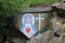 Panna Marie z Tisového údolí (česká ves Eibenthál v rumunském Banátu)