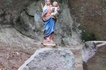Stolové hory - skalní kaple v opuštěném lomu v amfiteátru Cedronu IMG_3125 2