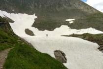 Traverzy přes sněhová pole