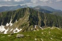 Před námi vrchol Șerbota